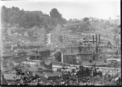 View of Bath from Sydney Buildings, c.1920s