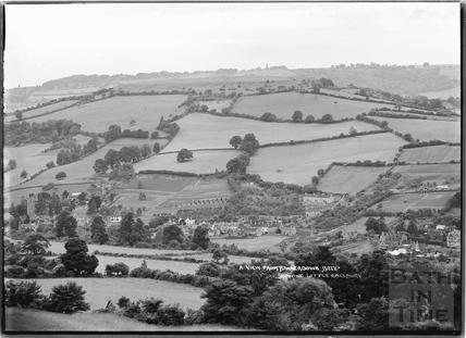 View of Northend Batheaston from Bannerdown c.1939