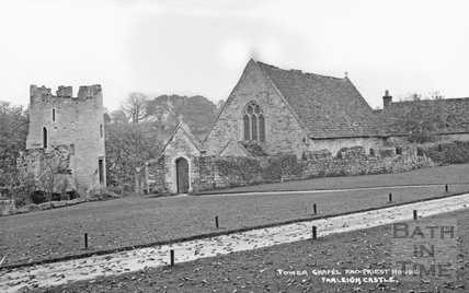 Tower Chapel and Priests House, Farleigh Castle c.1920s