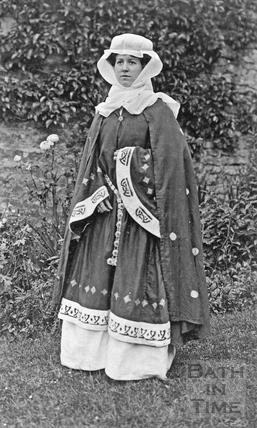 Violet Eugenie Dafnis (nee Bence) 1909