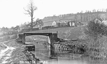 Canal Footbridge, Monkton Combe c.1900