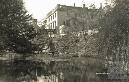 Iford Manor viewed from the river c.1920