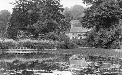 Fishpond Cottage, Prior Park, Bath c.1920