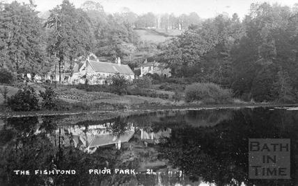 The Fishpond, Prior Park No.21, Bath c.1920