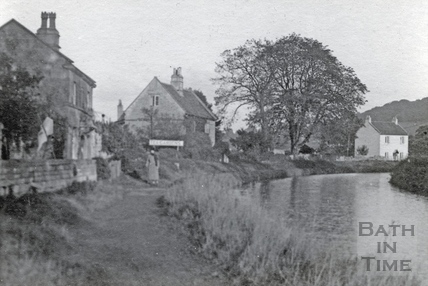 The Kennet and Avon Canal, Bathampton c.1910