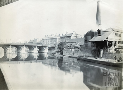 The Old Bridge, looking west 1894