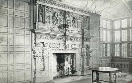 South Wraxall Manor interior c.1890s