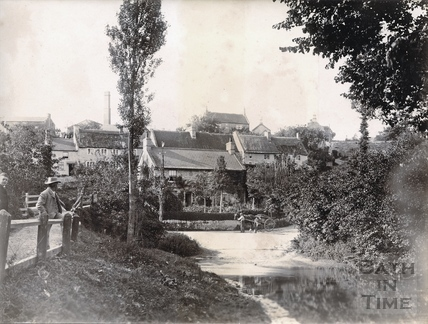 The ford at Wellow 1892