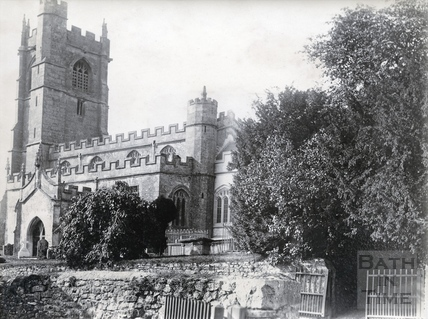 The church at Wellow 1892