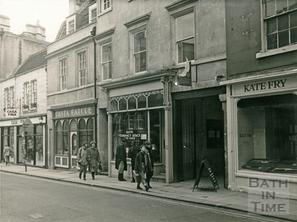 Shops in Broad Street 1987