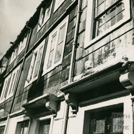 Doorways in Broad Street Place (Gracious Court) c.1960s
