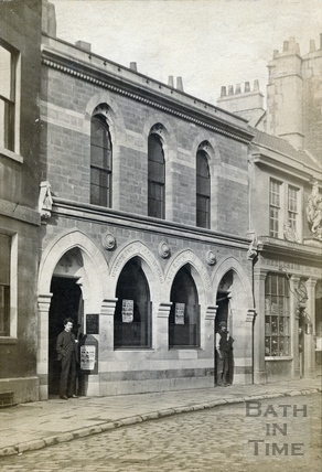 Henry Eve Auctioneers, Nos 2 & 4 Broad Street, c.1864