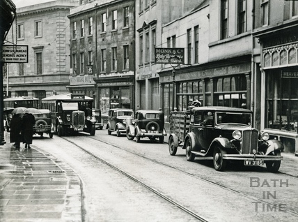The North side of Broad Street leading to Green Street c.1930s