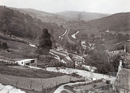 View of Limpley Stoke 1892
