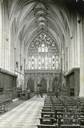 Bristol Cathedral c.1870