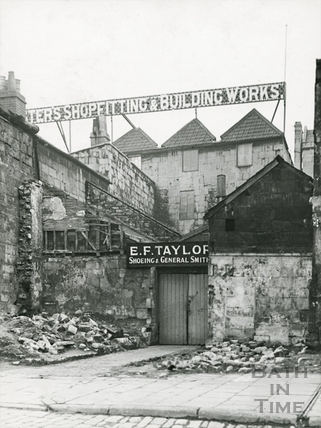 E.F. Taylor, Paradise Street, Bath c.1930s