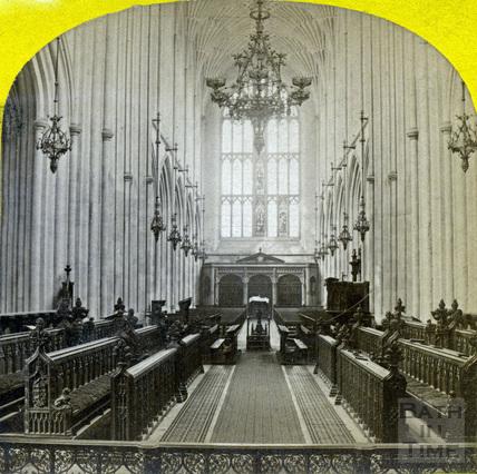 Interior, Bath Abbey, Bath c.1870