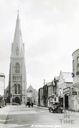 St. Andrew's Church, Julian Road, Bath from the west c.1930