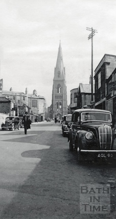 St Andrews Church, Julian Road, viewed from the west c.1950