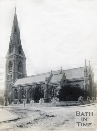 St. Andrew's Church, Julian Road, Bath, c.1890