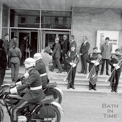 The opening of the Beaufort Hotel 30 March 1973