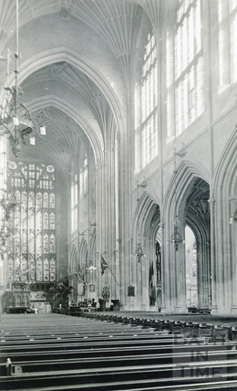 Bath Abbey Nave looking east c.1960s
