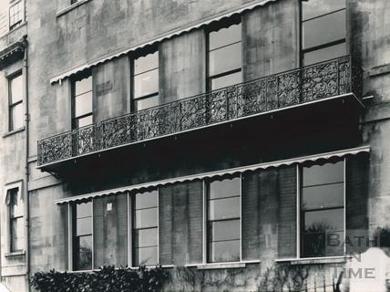 Balcony, 1, Lansdown Place West, Bath c.1903