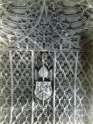 Prior Bird's Chantry chapel, vault, Bath Abbey c.1894