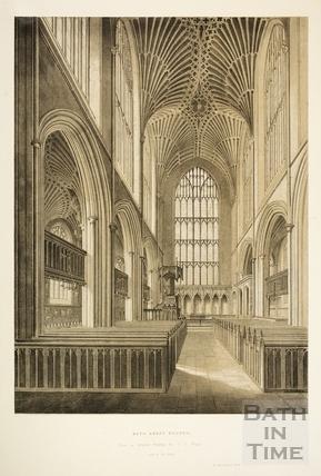 Bath Abbey Church 1845