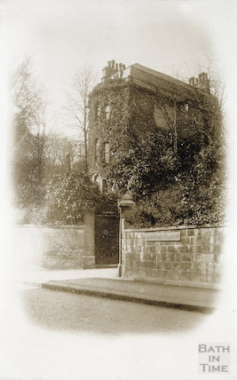 Somerset House, Sion Hill, Bath 1906