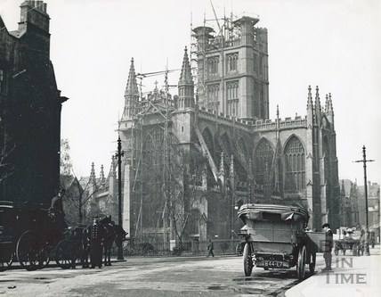 Bath Abbey from the Orange Grove 1906