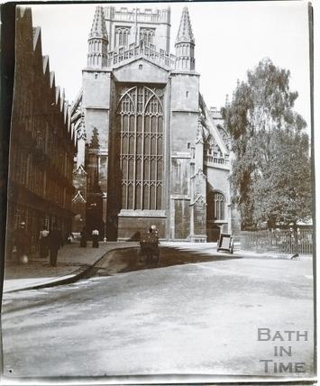 Abbey Church from Orange Grove c.1895