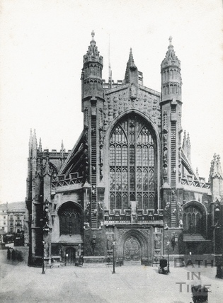 Abbey Church, west front c.1890