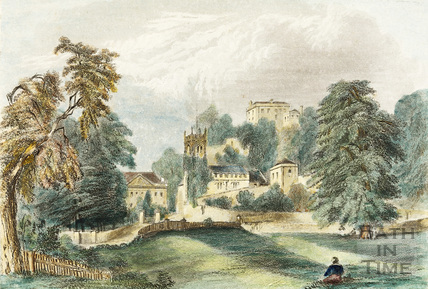 Widcombe Manor, Church and Crowe Hall 1844