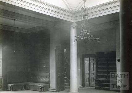 Interior of the old Royal Literary & Scientific Institute c.1932