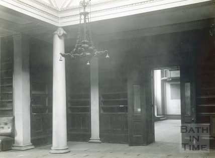 Interior of the old Royal Literary & Scientific Institute c.1932