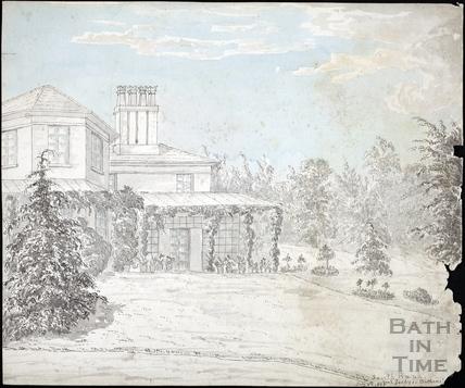 Southbank, Bannerdown, Batheaston July 4th 1865