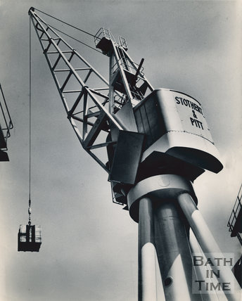 Stothert and Pitt Cargo Handling Crane c.1968