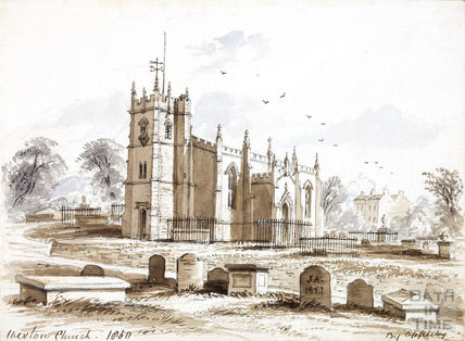 All Saints Church, Weston 1857