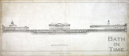 Prior Park near Bath c.1830s?