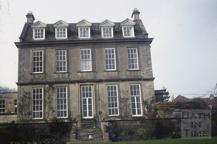 Batheaston House, April 1971
