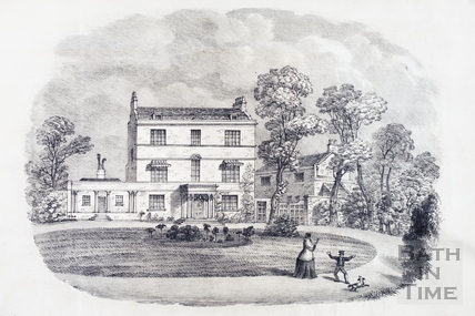 Winifred House, Sion Hill, Bath 1851