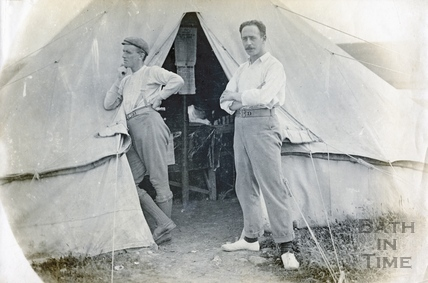 The photographer at Westdown Camp, Tileshead, Salisbury Plain c.1895