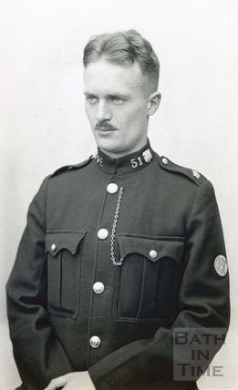 The photographer's son Roy in Police uniform c.1930s