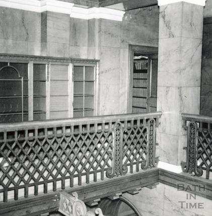 Hall looking SE. 1st floor. Wood House, Twerton May 1964