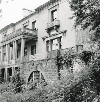 North East front of Wood House, Twerton May 1964