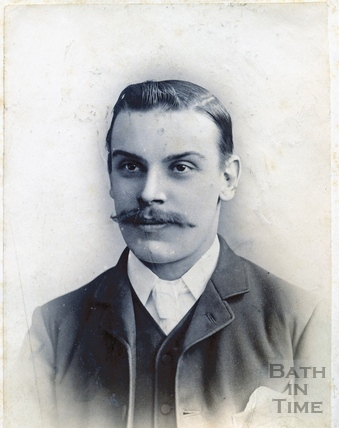 Thought to be Rev C. Bazell of Twerton, c.1887