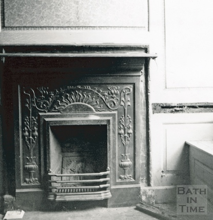 Fireplace, 5 Abbey Gate Street, 13 July 1964