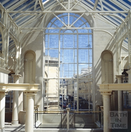 The Podium Centre upper level looking north up New Bond Street, 21 May 1991