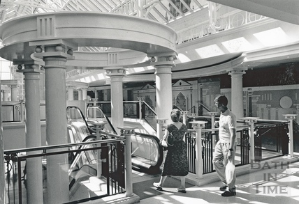 Upstairs at the Podium Centre, July 1990